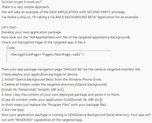 Windows Phone 8.1 взломана энтузиастами XDA Developers-81-hack1