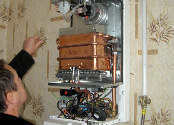 Теплообменник для газовой колонки своими руками