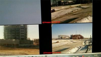 Контроль строительства через TRASSIR-wpid-2500