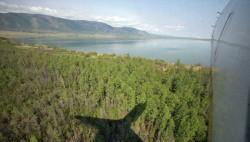 Власти сняли режим ЧС, введенный из-за лесных пожаров в Туве-wpid-927072952