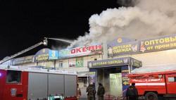 Пожар на московском рынке Садовод потушен, пострадавших нет-wpid-984282957